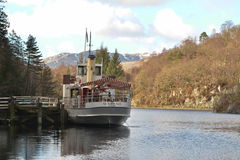 Sir Walter Scott steamship at Loch Katrine, Scotland Royalty Free Stock Photography