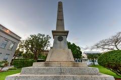 Sir William Reid Obelisk Royalty Free Stock Photos