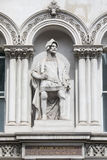 Sir William Walworth Statue i London Arkivfoton