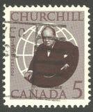Sir Winston Churchill imagen de archivo libre de regalías