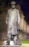 Sir Winston Churchill Statue in Paris Stock Photos
