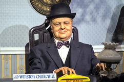 Sir Winston Leonard Spencer-Churchil Stock Photo