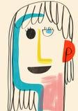 Sira de mãe à ilustração do dia do ` s e ao amor das crianças Imagens de Stock