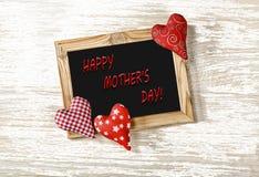 SIRA DE MÃE AO DIA do ` S, corações, felicitações, presentes, amor, mamã, postcar fotos de stock royalty free