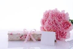Sira de mãe dia ao ` s do dia, do Valentim do ` s, presentes e cartões Fotos de Stock