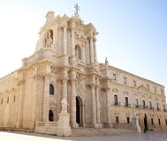 The Siracusa Cathedral Stock Image