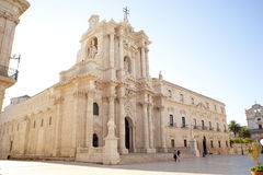 The Siracusa Cathedral Royalty Free Stock Image