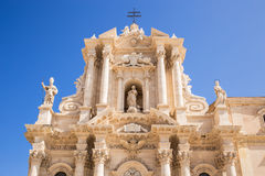Siracusa cathedral Royalty Free Stock Image