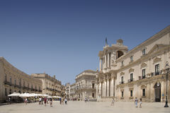Siracusa Cathredral Stock Image
