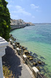 Siracusa Coast in Sicily - Italy Royalty Free Stock Photo