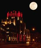 Siracusa, New York alla notte Fotografia Stock