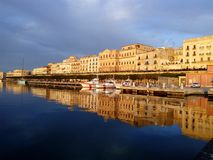 Siracusa Ortigia Italien Sicilia stockbild