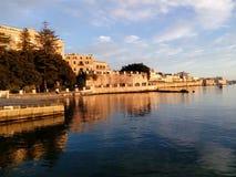 Siracusa Ortigia Italien Sicilia stockfotografie