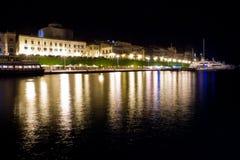 Siracusa på natten Royaltyfri Bild