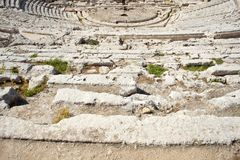 Siracusa's Greek theatre Royalty Free Stock Photos