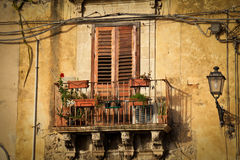 Siracusa, Sicilië Royalty-vrije Stock Afbeeldingen