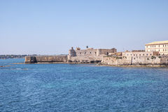 Siracusa in Sicily - Castle Stock Images