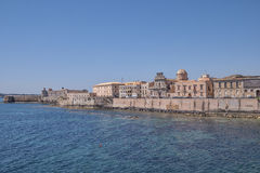 Siracusa in Sicily - Old City Stock Photography