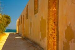 Siracuse , vendicari wall Royalty Free Stock Image