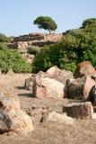 Sirai mountain, Carbonia (Sardinia) Stock Photography