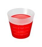 sirap för hostakoppmedicin Royaltyfri Foto
