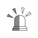 Siren alarm isolated icon Royalty Free Stock Photo