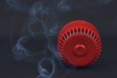 Siren för röd brand Royaltyfri Fotografi