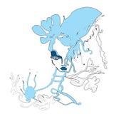 Sirena royalty illustrazione gratis