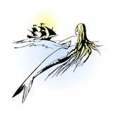 Sirena illustrazione di stock