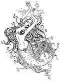 Sirena Immagine Stock
