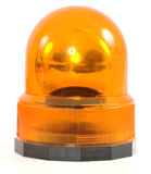 Sirena arancione Immagini Stock