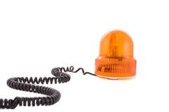 Sirena arancione Fotografia Stock Libera da Diritti