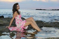 Sirena di modello Fotografie Stock