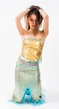 Sirena hermosa joven Imágenes de archivo libres de regalías