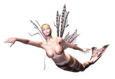 Sirena incantevole immagine stock