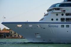 Sirena-Kreuzschiff in Venedig, Italien Lizenzfreie Stockfotos