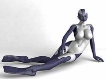 Sirena sexy Fotografie Stock Libere da Diritti