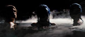 Sirene della notte immagine stock