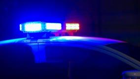 Sirene do carro de polícia