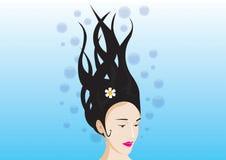 Sirene onderwater Royalty-vrije Stock Fotografie