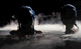 Sirenes da noite Fotos de Stock Royalty Free