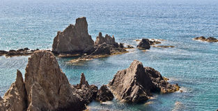 Sirens Reef. Cabo de Gata Royalty Free Stock Image