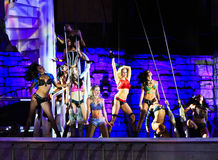 Sirens of TI show, Treasure Island, Las Vegas Stock Photography
