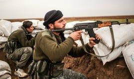 Siria: Ejército sirio libre imagen de archivo