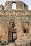Siria - iglesia de St. Simeon - Qal'a Sim'an Imagenes de archivo