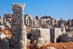 Siria - las ciudades muertas imágenes de archivo libres de regalías