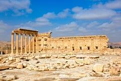 Siria - Palmyra (Tadmor) Fotos de archivo