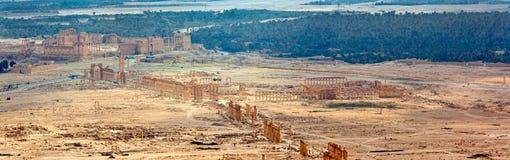 Siria - Palmyra (Tadmor) Foto de archivo