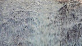 Siribhume siklawa w Doi Inthanon parku narodowym w Chiang Mai, Tajlandia Zamyka w górę widok zdjęcie wideo
