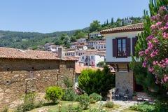 Sirince村庄,伊兹密尔省,土耳其 免版税库存图片